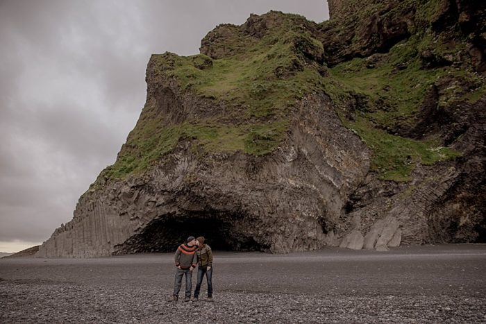 9 Iceland Elopement Photos By Miss Ann  via MountainsideBride.com