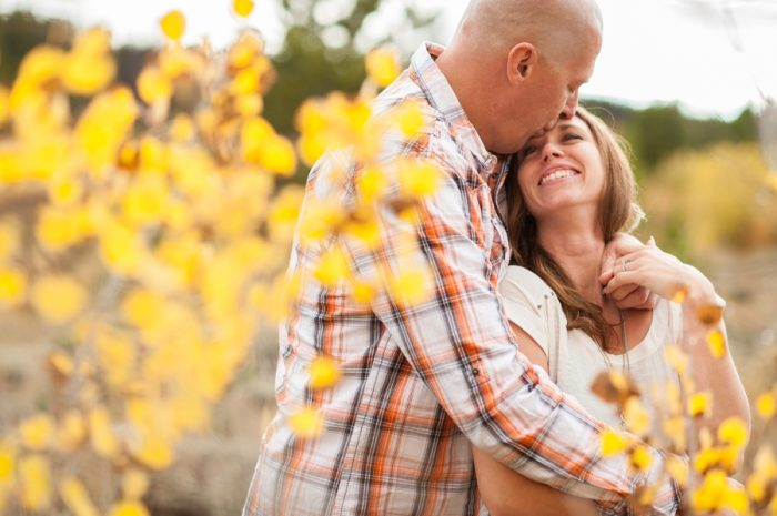 11 Wyoming Engagement Fall | Ardent Photography | Via MountainsideBride.com