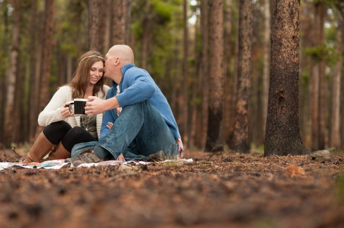 14 Wyoming Engagement Fall | Ardent Photography | Via MountainsideBride.com