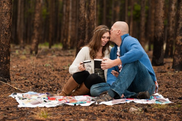 4 Wyoming Engagement Fall | Ardent Photography | Via MountainsideBride.com