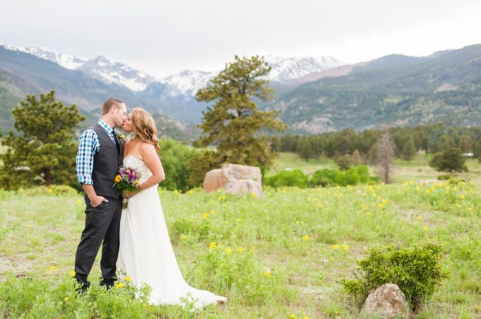 Rocky Mountain National Park Wedding Candice Benjamin Photography | Via MountainsideBride.com