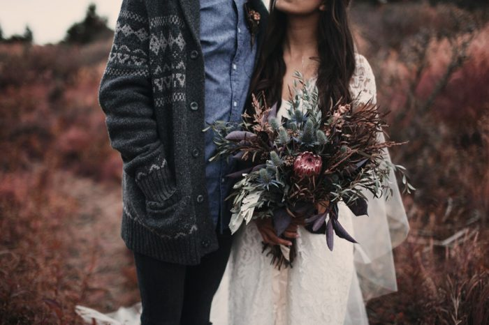 29 Alaska Wedding Inspiration Lauren Parker | Via MountainsideBride.com
