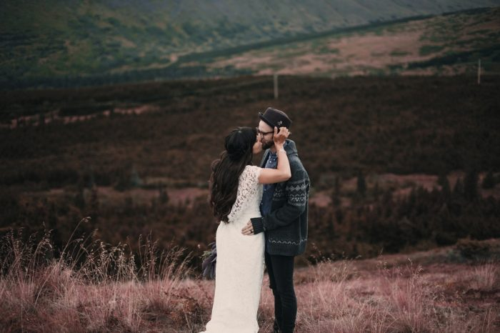 30 Alaska Wedding Inspiration Lauren Parker | Via MountainsideBride.com