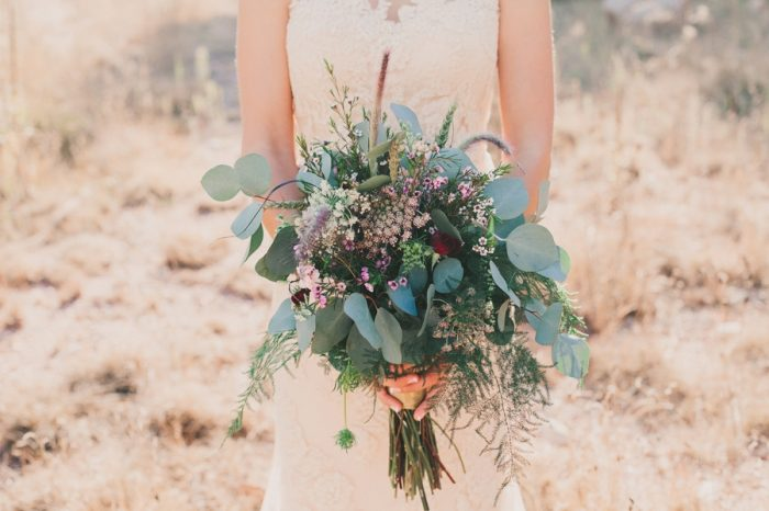 Bouquet Payton Arizona Wedding Savanna Lauren Photography | Via MountainsideBride.com