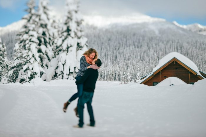 Snoqualmie Engagement Christina Klas Photography | Via MountainsideBride.com