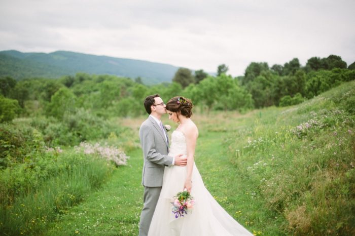 Bridal Portraits | Bald Eagle State Park Wedding | Caitlin Thomas Photography | Via MountainsideBride.com