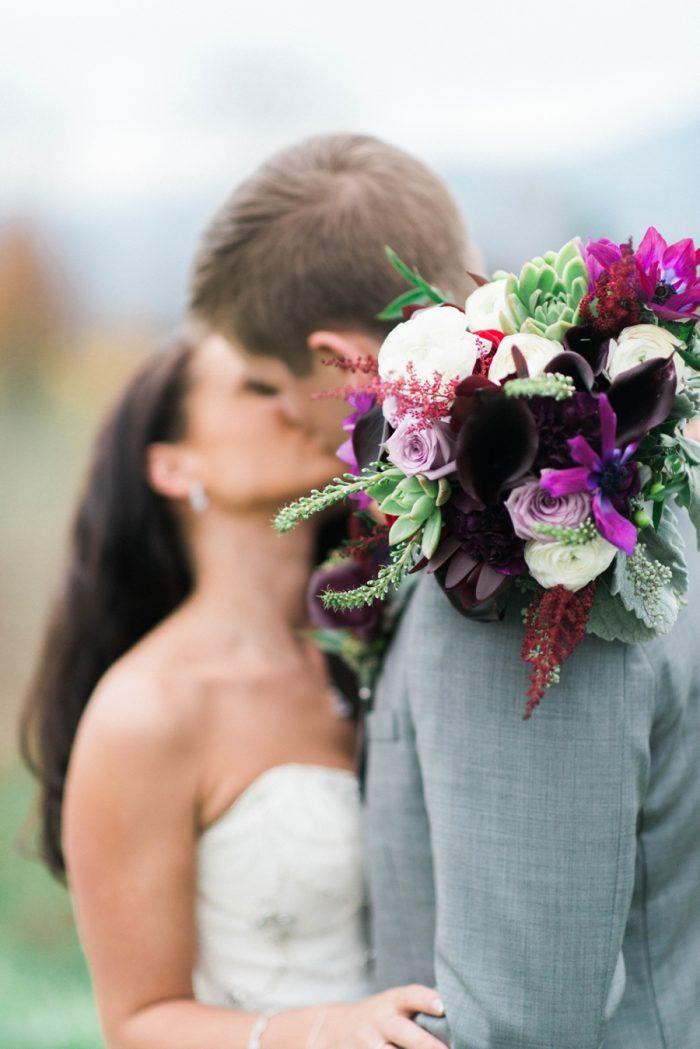 Virginia Mountain Wedding Kim Stockwell Photography | Via MountainsideBride.com
