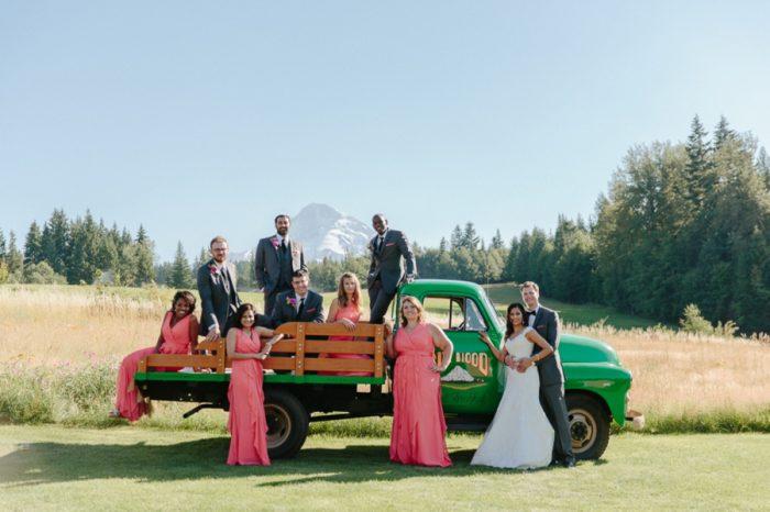 Mount Hood Wedding Bed Nicole Wasko Photography | Via MountainsideBride.com
