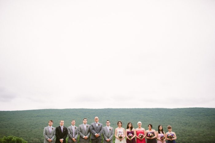 Bridal Party | Bald Eagle State Park Wedding | Caitlin Thomas Photography | Via MountainsideBride.com