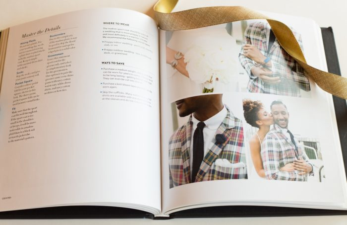 Preppy Wedding Style | Grooms Style Book Review | Via MountainsideBride.com