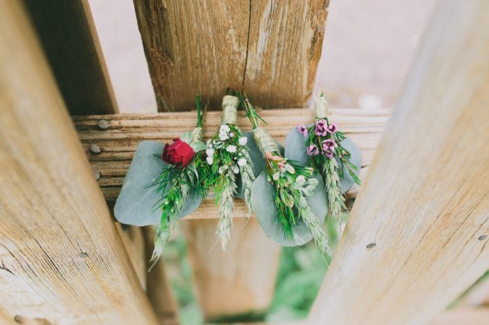 Boutonniere Payton Arizona Wedding Savanna Lauren Photography | Via MountainsideBride.com