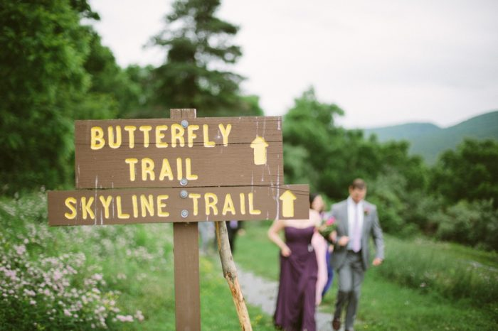Butterfly Trail | Bald Eagle State Park Wedding | Caitlin Thomas Photography | Via MountainsideBride.com