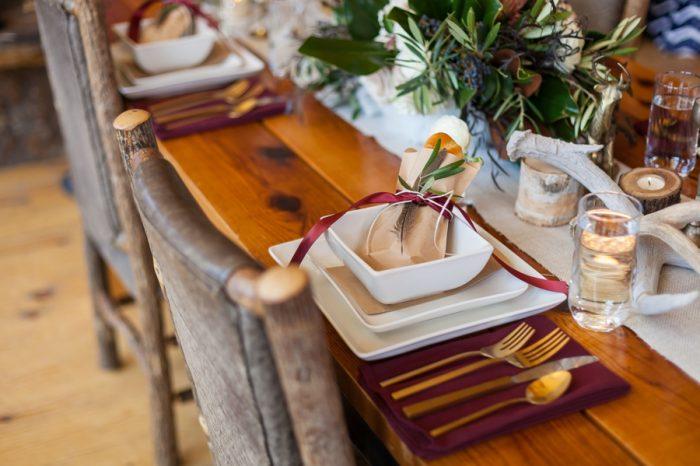 Taste 5 Caterring | Breckenridge Nordic Wedding Inspiration Bergreen Photography | Via MountainsideBride.com