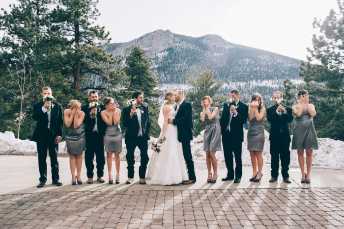 Estes Park Wedding Searching For The Light Photography | via MountainsideBride.com