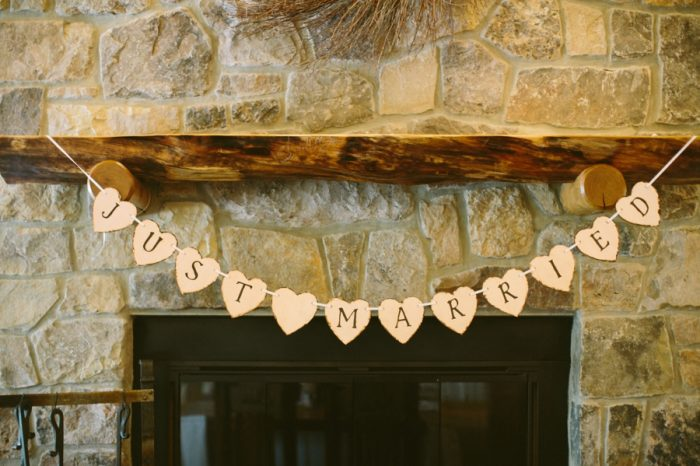 Just Married | Bald Eagle State Park Wedding | Caitlin Thomas Photography | Via MountainsideBride.com