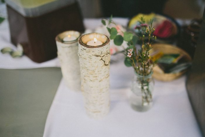 Birch Candle Payton Arizona Wedding Savanna Lauren Photography | Via MountainsideBride.com