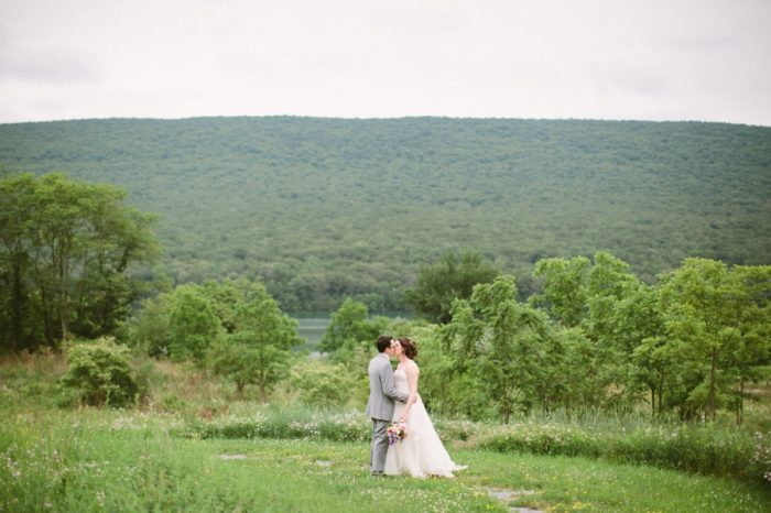 Bridal Portraits | Bald Eagle State Park Wedding | Caitlin Thomas Photography | Via MountainsideBride.com