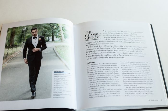 Classic Style   Grooms Style Book Review   Via MountainsideBride.com