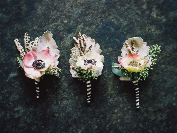 Boutonnieres | Copper Mountain Wedding Colorado Danielle DeFiore Photography | Via Mountainsidebride.com