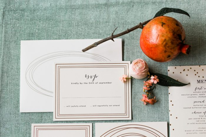 1 Stationery By Minted And Aisle Society Via MountainsideBride.com