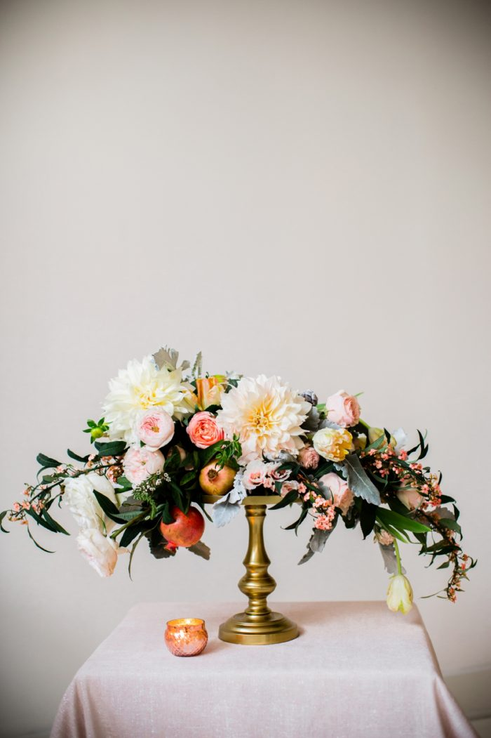 13 Tablescape By Minted And Aisle Society Via MountainsideBride.com