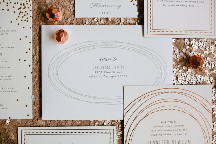14 Stationery By Minted And Aisle Society Via MountainsideBride.com