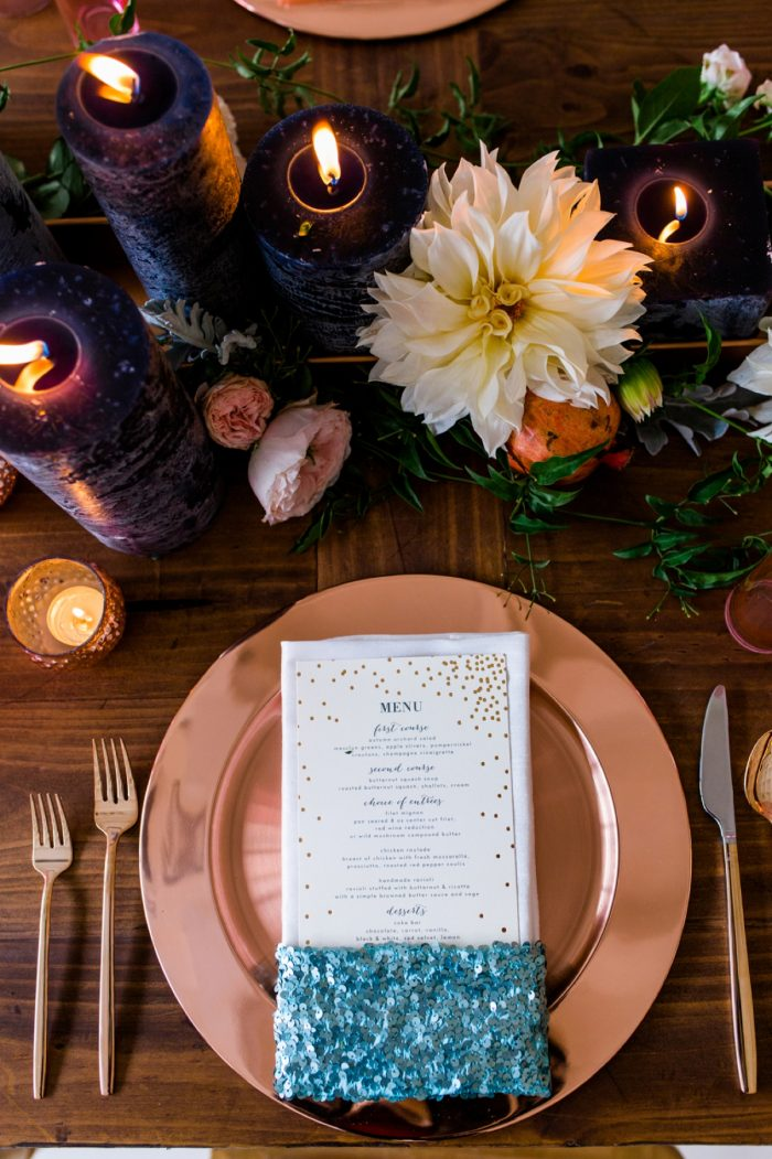 17 Tablescape By Minted And Aisle Society Via MountainsideBride.com