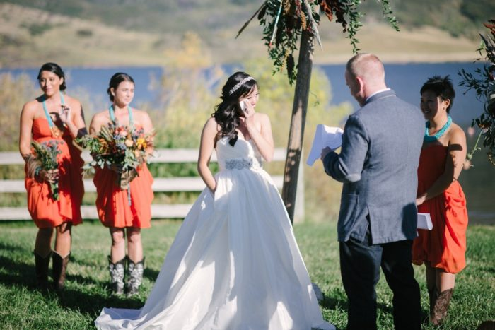 Steamboat Springs Wedding Andy Barnhart Photography   Via MountainsideBride.comamboat Springs Wedding Andy Barnhart Photography   Via MountainsideBride.com