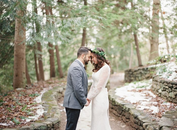 Asheville North Carolina Elopement Justin DeMutiis Photography | Via MountainsideBride.com