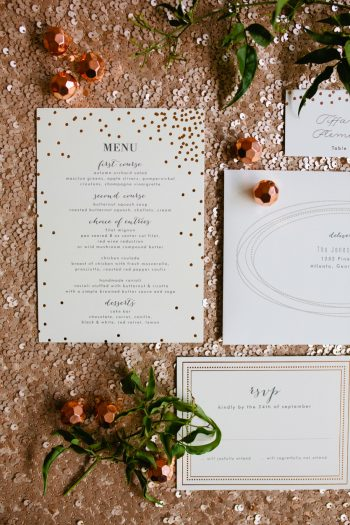 24b Stationery By Minted And Aisle Society Via MountainsideBride.com