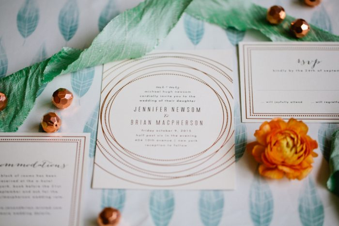 27 Stationery By Minted And Aisle Society Via MountainsideBride.com