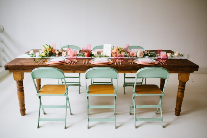 28 Tablescape By Minted And Aisle Society Via MountainsideBride.com7