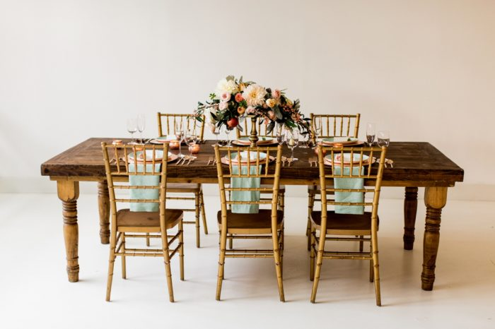 3 Tablescape By Minted And Aisle Society Via MountainsideBride.com
