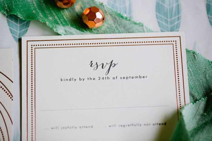 32 Stationery By Minted And Aisle Society Via MountainsideBride.com