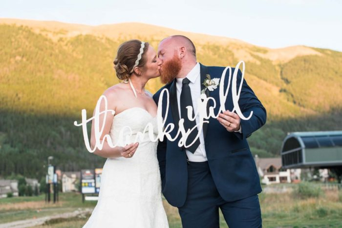 Copper Mountain Wedding Colorado Danielle DeFiore Photography | Via Mountainsidebride.com