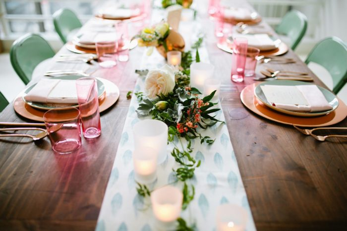 34 Tablescape By Minted And Aisle Society Via MountainsideBride.com