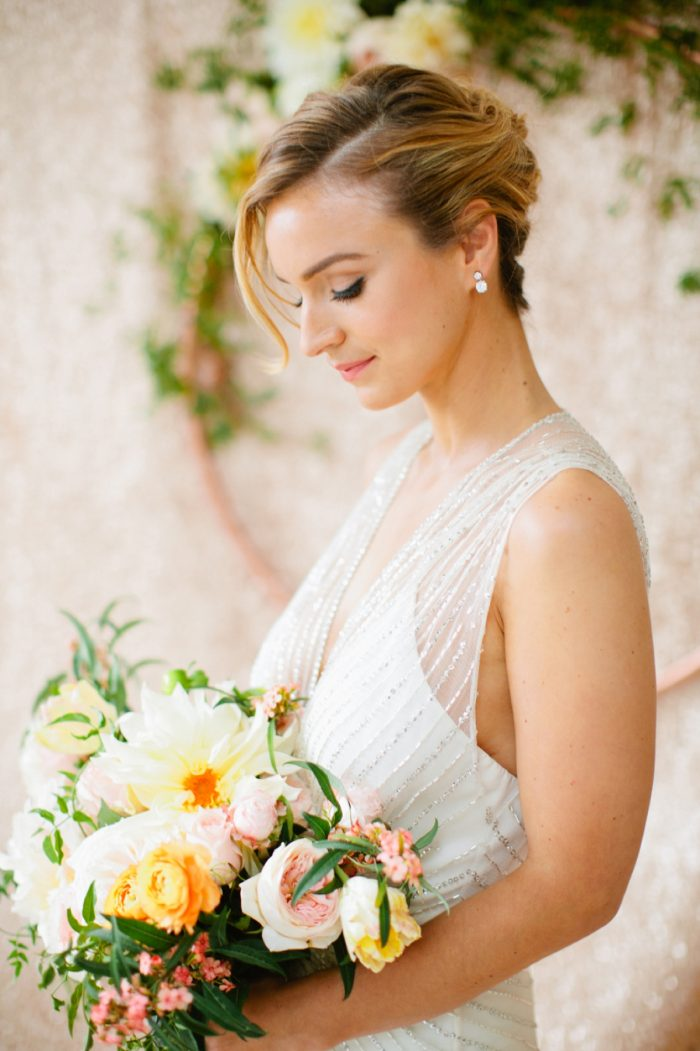 36a Bride By Minted And Aisle Society Via MountainsideBride.com