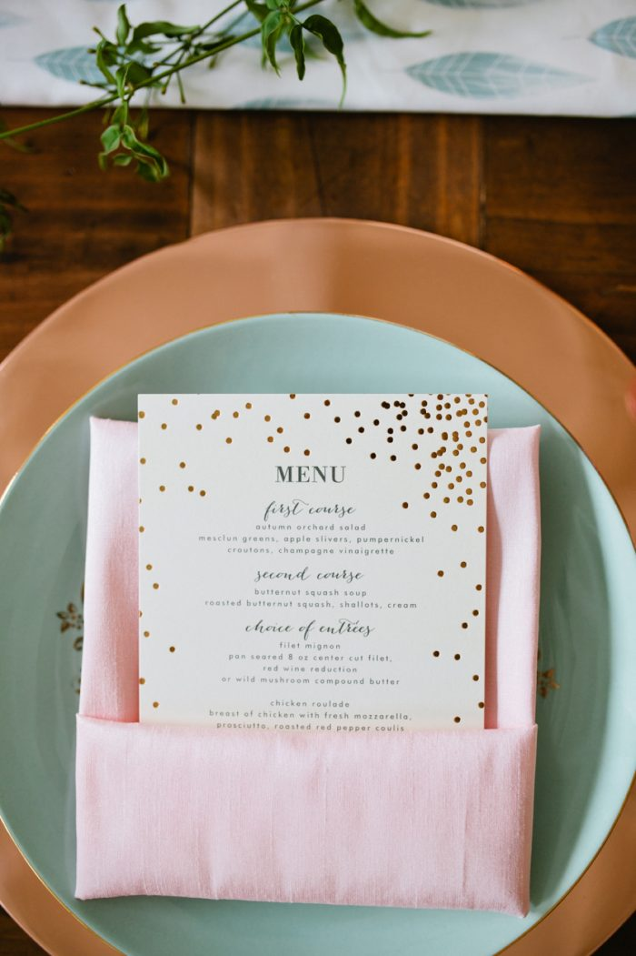 37 Tablescape By Minted And Aisle Society Via MountainsideBride.com