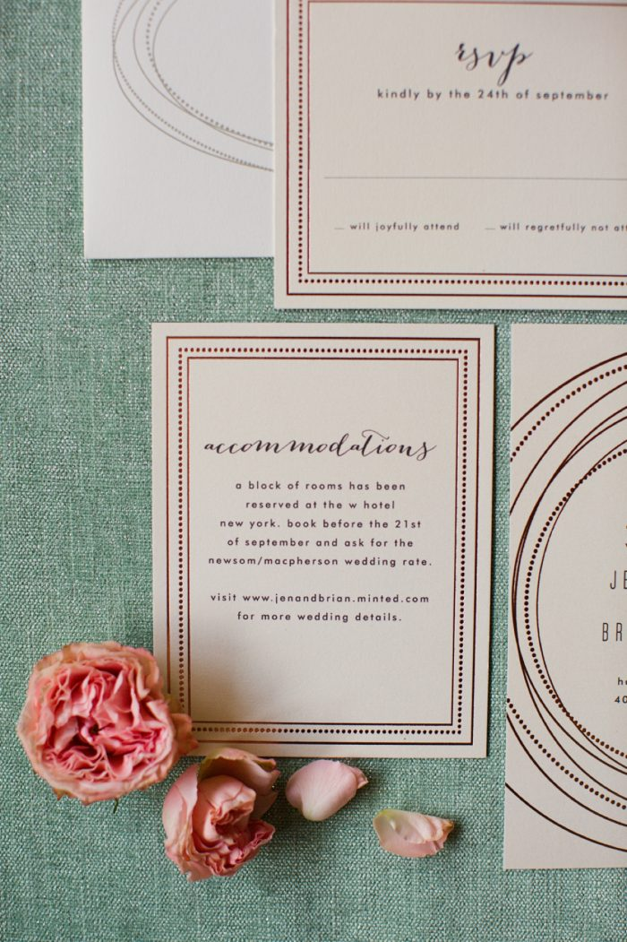 9 Stationery By Minted And Aisle Society Via MountainsideBride.com