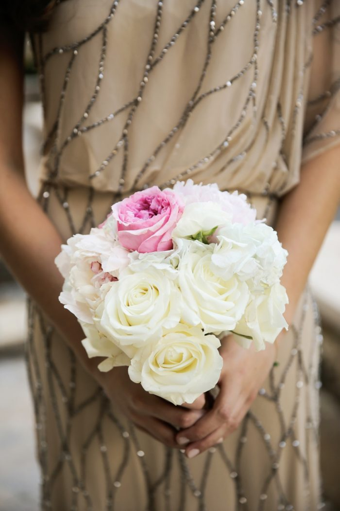 Bridesmaids Bouquet | Elegant Park City Wedding St Regis Logan Walker Photography | Via MountainsideBride.com