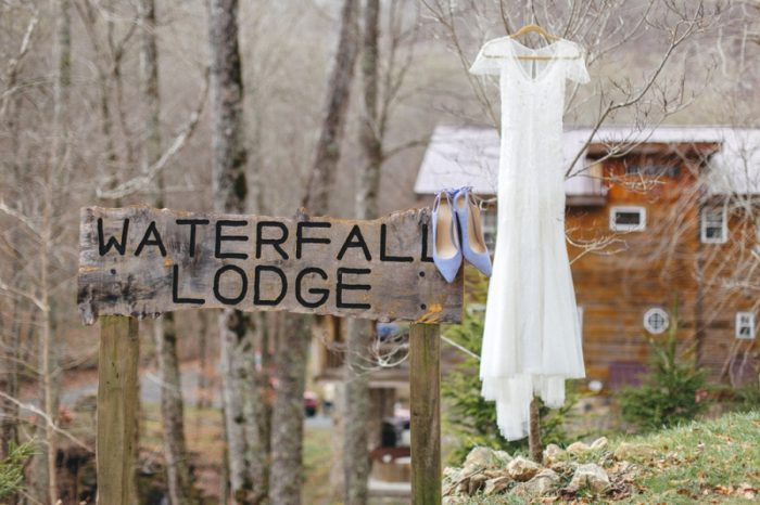 Dress Folk Wedding Inspiration In Asheville Krista Lajara Photography | Via MountainsideBride.com