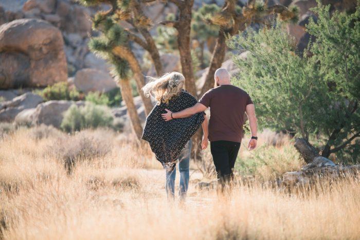 Joshua Tree National Park Engagement Shoot Randy+Ashley Photography | Via MountainsideBride.com