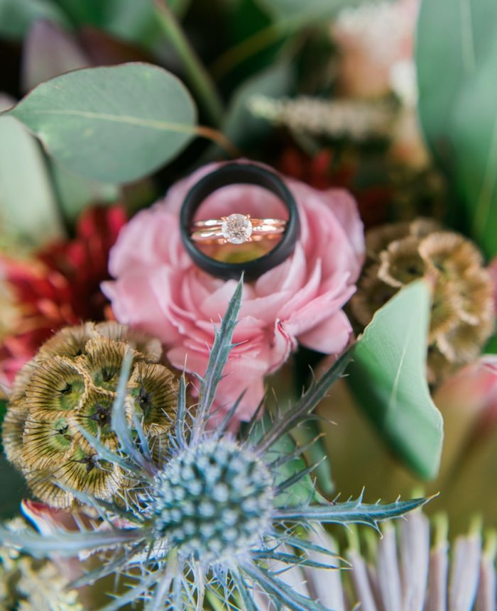 Engagement Ring | Smoky Mountain Elopement Madeline Harper Photo | Via MountainsideBride