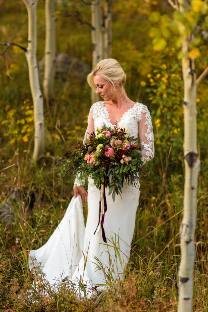 Vail Wedding Inspiration Piney River Ranch Aldabella Photography | Via MountainsideBride.com
