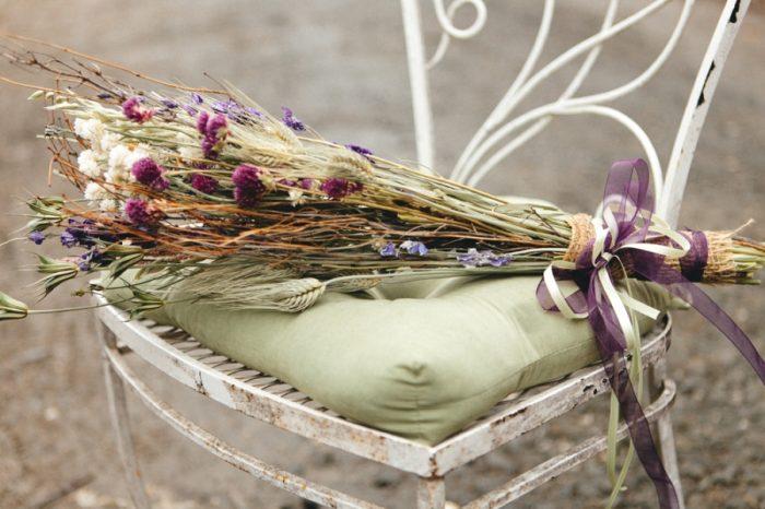 Maids Bouquet Folk Wedding Inspiration In Asheville Krista Lajara Photography | Via MountainsideBride.com