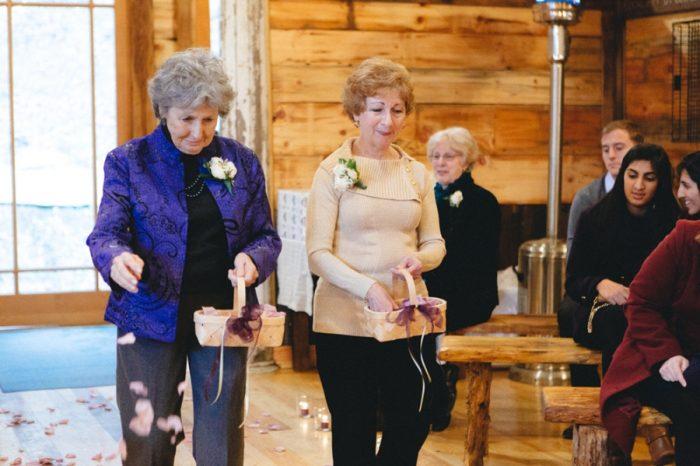 Grandma Flowergirl Folk Wedding Inspiration In Asheville Krista Lajara Photography | Via MountainsideBride.com