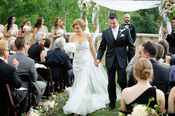 Ceremony | Elegant Park City Wedding St Regis Logan Walker Photography | Via MountainsideBride.com