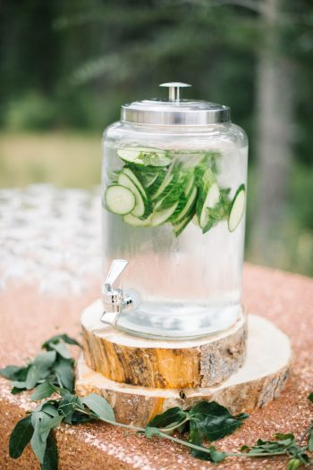 Cucumber Water Canmore Mountain Wedding At Silvertip Resort Corrina Walker Photography | Via MountainsideBride.com