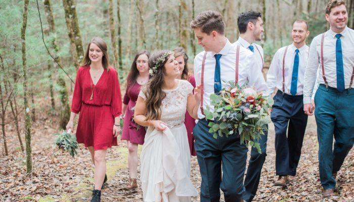 Enchanting Woodland Elopement in the Smoky Mountains