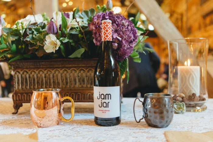 Table Decor Folk Wedding Inspiration In Asheville Krista Lajara Photography | Via MountainsideBride.com